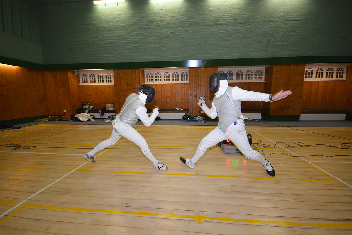Fencing lessions