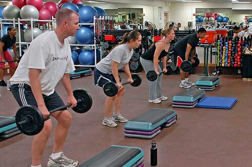 Fitness classes
